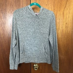 Gray Juicy Couture hooded sweatshirt